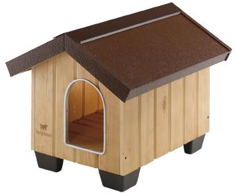 Cuccia per cani in legno